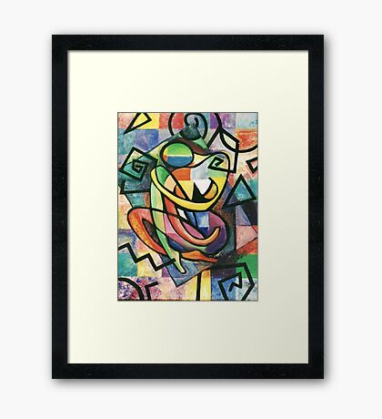 Woman in Solitude Framed Print