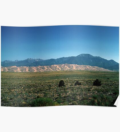 Great Sand Dunes, Colorado, USA Poster
