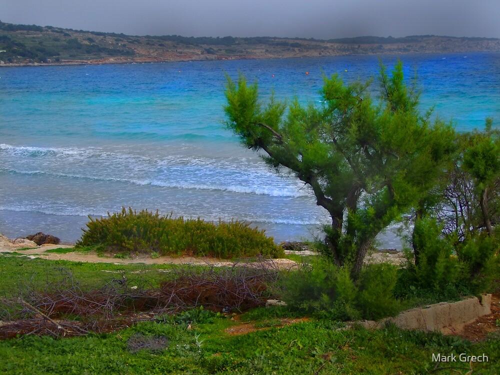 Mellieha Bay 2 by Mark Grech
