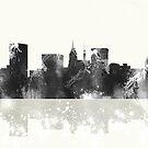 Baltimore Maryland Skyline von Marlene Watson