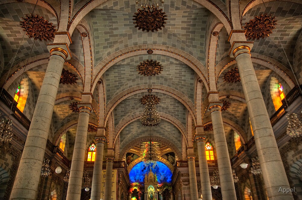 Mazatlan Cathedral (Cathedral of the Immaculate Conception) by Appel