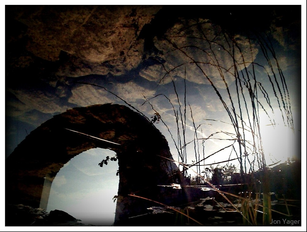 iPhone Reflection 28 by Jon Yager