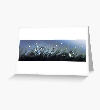 Magical Drops Greeting Card