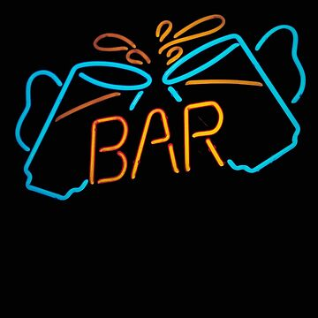 Bar Beer Mugs Bar Neon Sign Bar Sign by stacyanne324