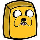 Jake the Dog - Adventure Time Boxheadz by Justin Fidencio