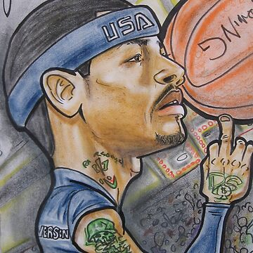 Allen IVERSON caricature by thalilarsenic