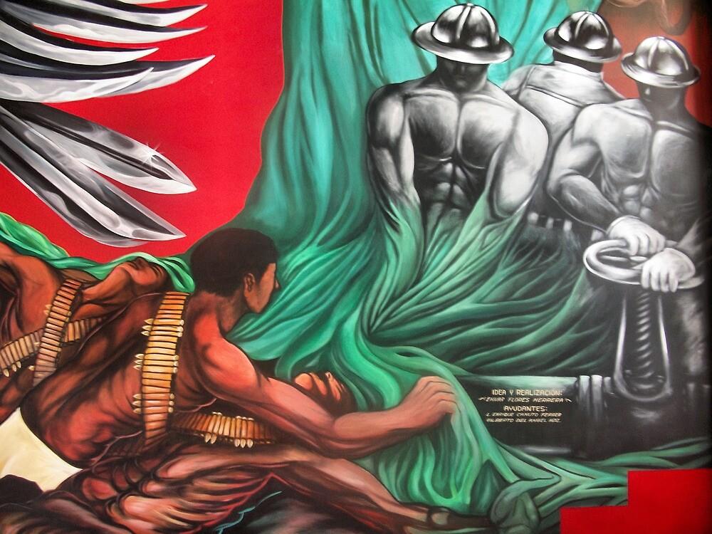 MURAL HISTORY OF NARANJOS-AMATLAN by Ehivar Flores Herrera
