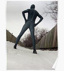 December Zentai Run Poster