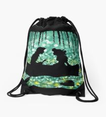 Kiss The Girl Drawstring Bag