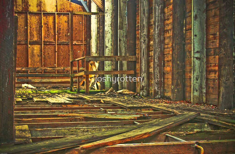 fallen floor by joshyrotten