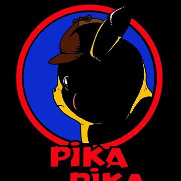 Detective Pika Pika! by PengewApparel