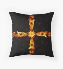 Las Cruzes Throw Pillow