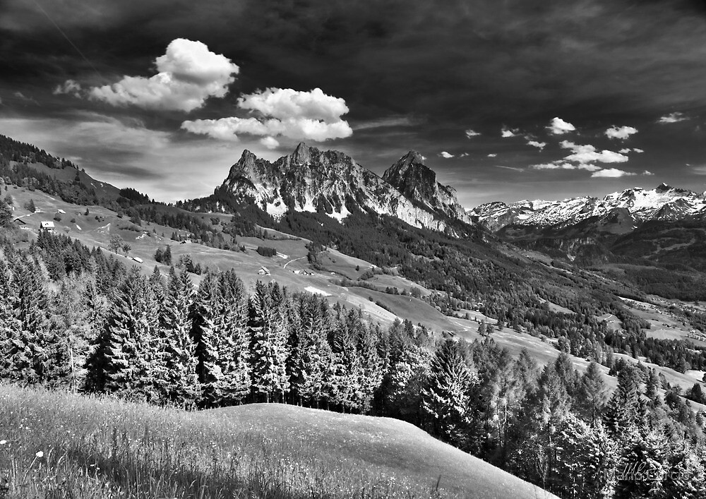 Mountain Landscape by Mario Curcio