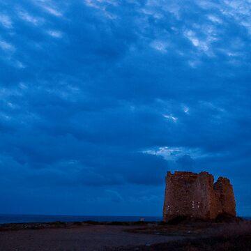 Tramonto a Torre Sgarrata by squitieri