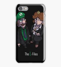 The L-files iPhone Case/Skin