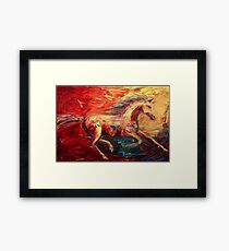 The Movement Framed Print