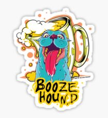 Booze Hound  Sticker