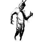 White rabbit by Qwertfx