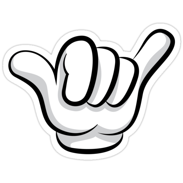 """""""Dope Hand"""" Stickers by FlothWest 