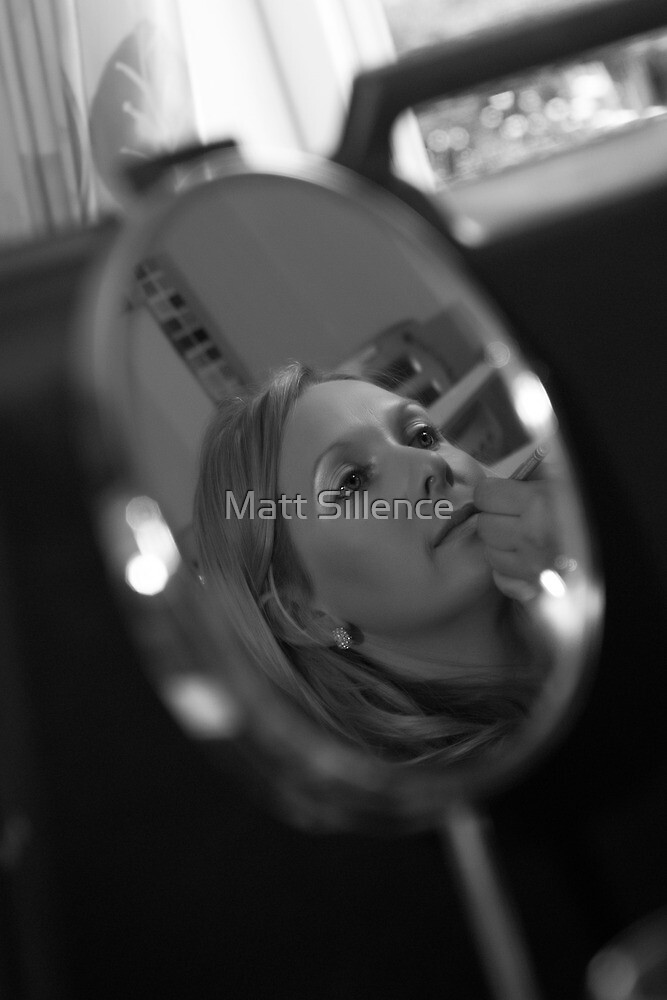 Looking in the looking glass by Matt Sillence
