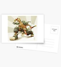 tokeil: pirate god of time Postcards