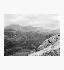 Sca Fell from Mediobogdum Photographic Print