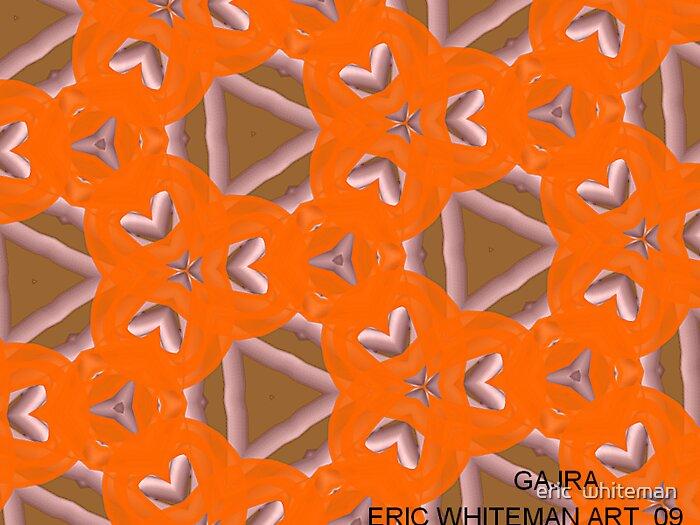 ( GAJRA )  ERIC WHITEMAN ART   by eric  whiteman