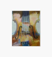 Violin Painting Art Board