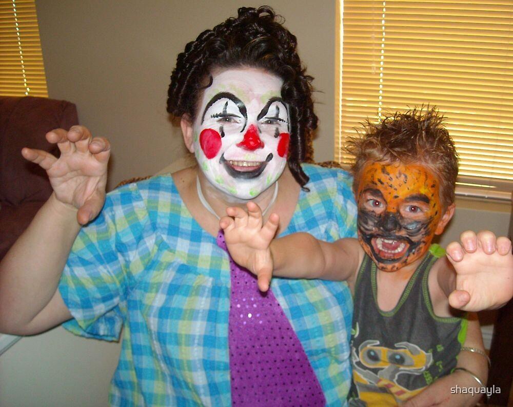 clowning around by shaquayla