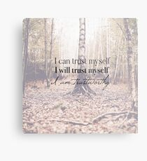 I am trustworthy  Metal Print