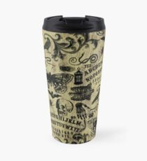Occultism Stamp Travel Mug