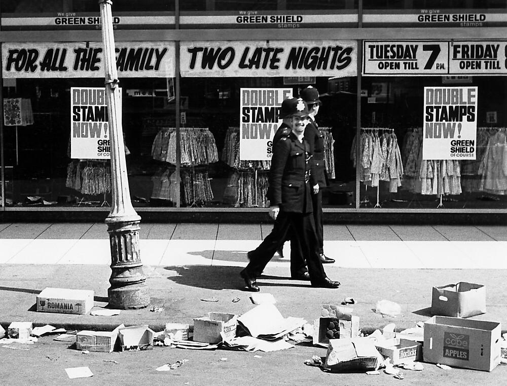 Laughhing Cops 1970 by Duncan Garrett