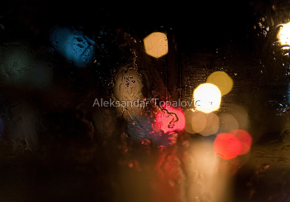 Nighte rain. by Aleksandar Topalovic