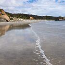 Wharariki Beach by Anne Scantlebury