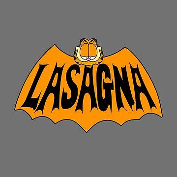 Garfield Lasagna by zombill