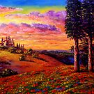 Evening in Tuscany by sesillie