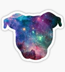 Galaxy Pittie Sticker