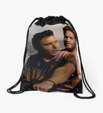 James Franco & Seth Rogen Drawstring Bag