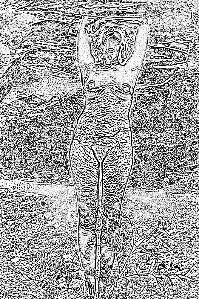 Treewoman 2 by Karin Ward