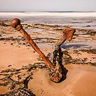 Wreck beach the great ocean road. by ketut suwitra