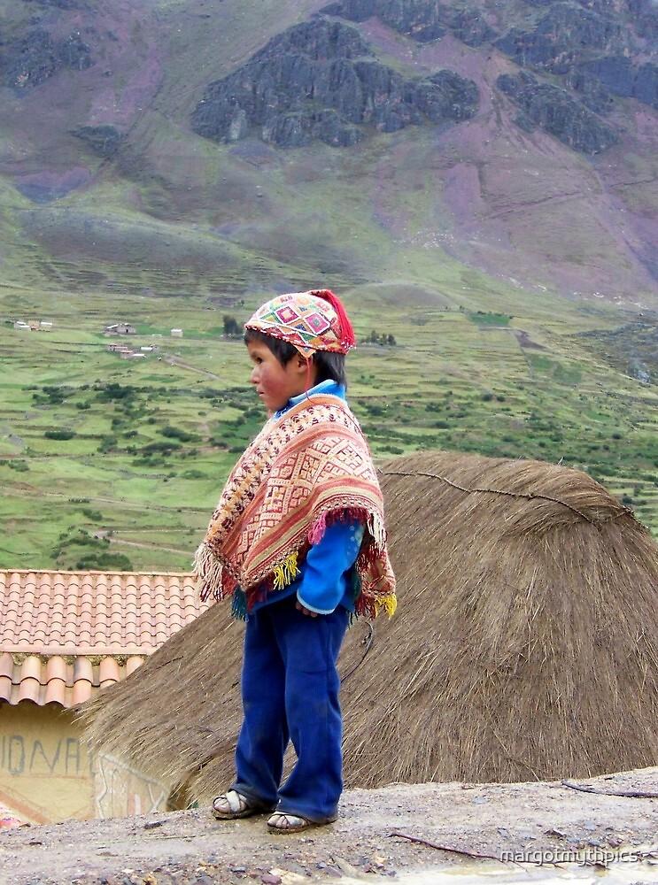 Peruvian  Boy by margotmythpics