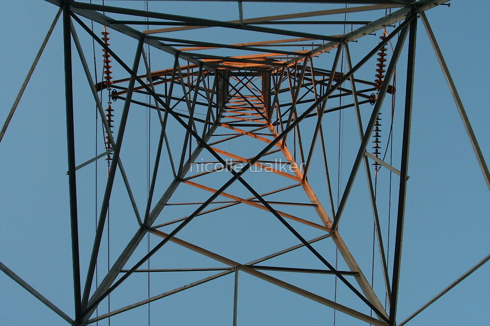 electrical tower by nicolle walker