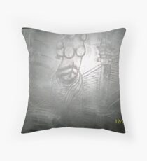 sculpture etchings Throw Pillow