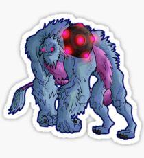 monster class: golma guardian: h'rok Sticker