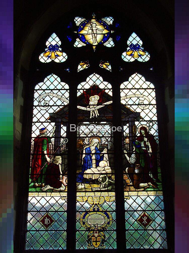 Window #2, Waltham Abbey, Essex, UK by Bev Pascoe