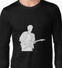 John Mayer outline Long Sleeve T-Shirt