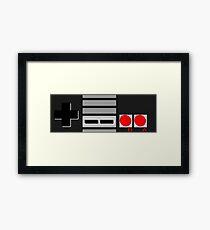 NES - Nintendo Entertainment System 2nd Design Framed Print