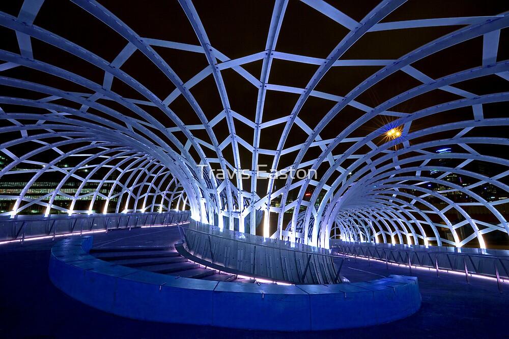 Webb Bridge Blue  by Travis Easton