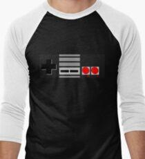 NES - Nintendo Entertainment System 2nd Design Men's Baseball ¾ T-Shirt