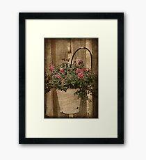 Potted Garden Framed Print